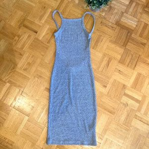 Aritzia Community Grey Backless Dress🤍